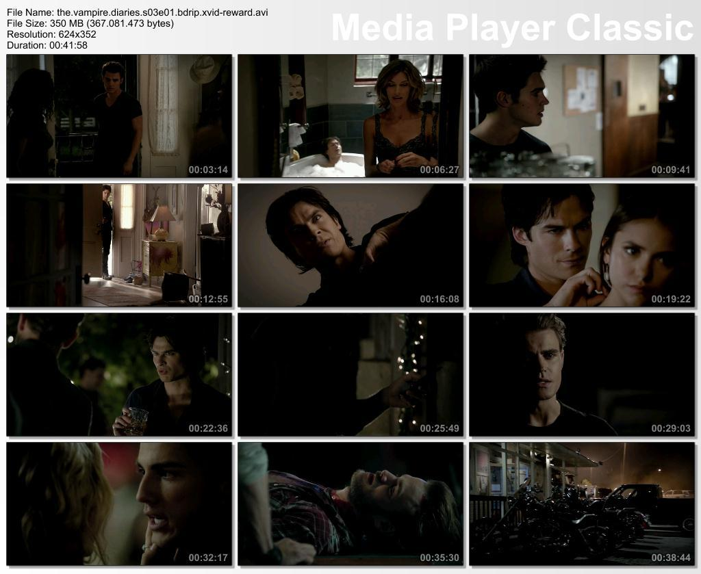 The Vampire Diaries 3. Sezon T�m B�l�mler BDRip XviD T�rk�e Altyaz�l� Tek Link indir