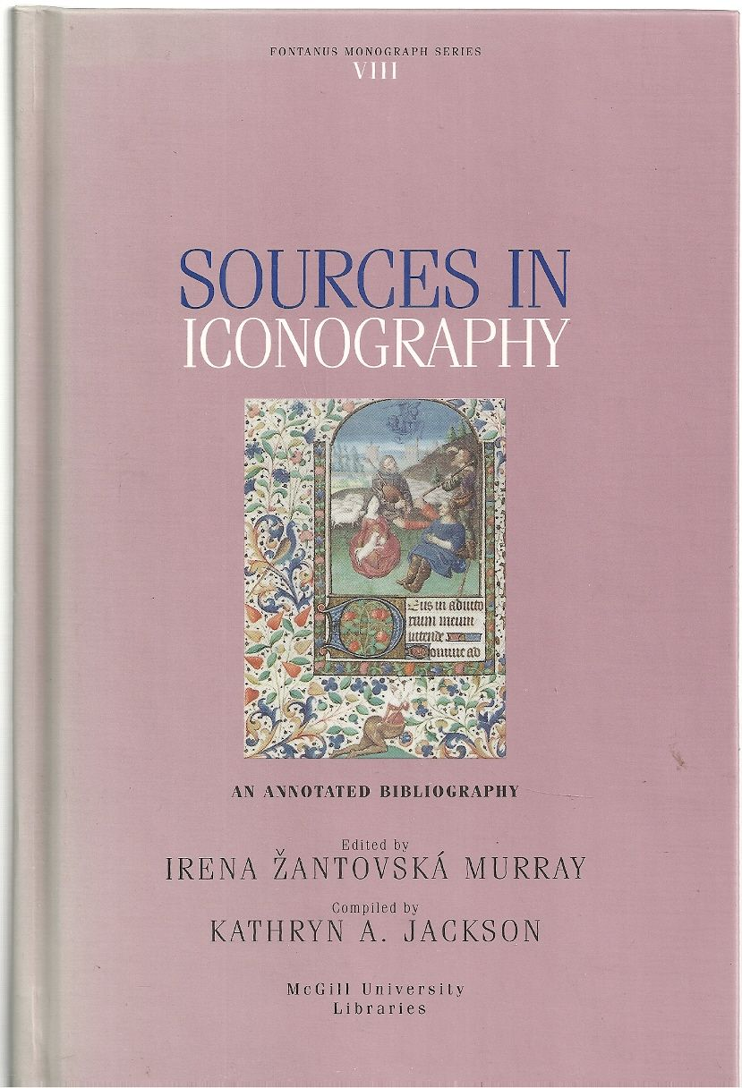 Sources in iconography in the Blackader-Lauterman Library of Architecture and Art, McGill University: An annotated bibliography (Fontanus monograph series), Blackader-Lauterman Library of Architecture and Art