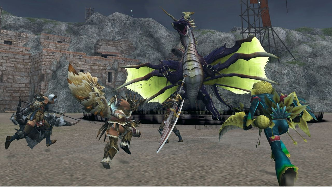 Monster hunter online download english