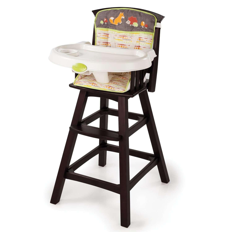 Summer infant periquera silla alta sillita madera comer for Silla de bebe de madera