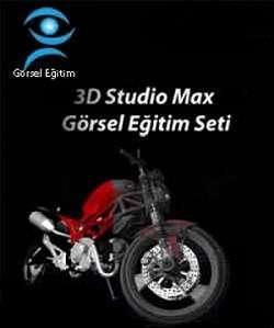 3D Studio Max Görsel Eğitim Seti Türkçe