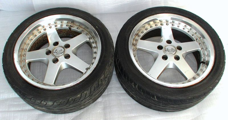 WORK EQUIP 17 9J 5x114 Alloy Wheels RX8 S13 RX7 Supra VR4 S14 S1