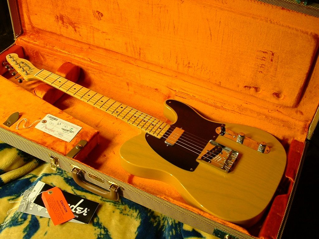 The Fender Vintage 52 Hot Rod Tele Thread Z Talk Reissue Telecaster Wiring Diagram I Think She Is A Keeper