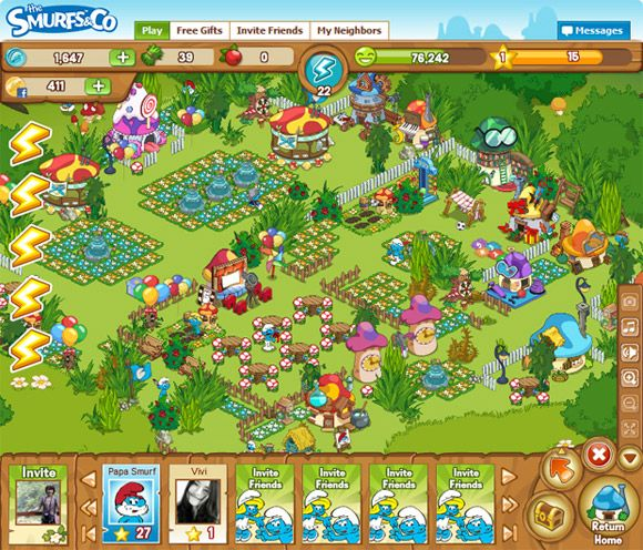thesmurfs9187869 The Smurfs & Co   New Social Network Game