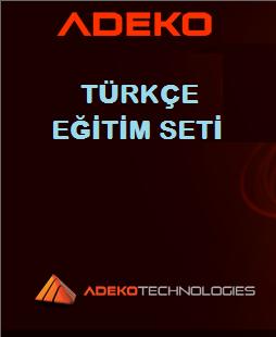Adeko Eğitim Seti Türkçe